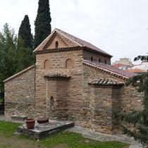 Agios Nikolaos Orfanos, Rückseite
