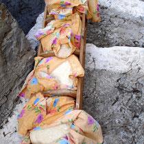 Karpathos: Teig für das gute Bauernbrot