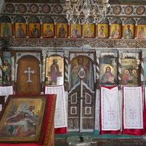 Im Inneren einer der Kapellen