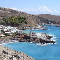 Kreta: Chora Sfakion mit dem Vrissi-Strand