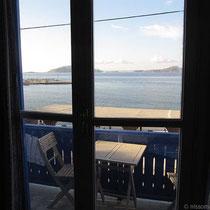 Blick aus dem Fenster...