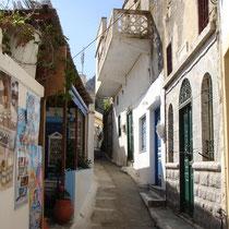 Karpathos: Die Gassen von Olymbos