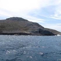 Einfahrt in die Bucht von Pserimos