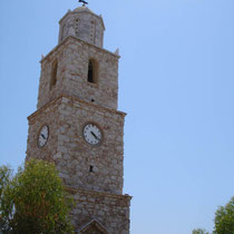 Chalki: Das Uhrturm