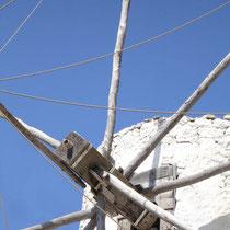 Karpathos: Windmühle in Olymbos
