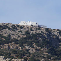 Oben thront Agios Simeon