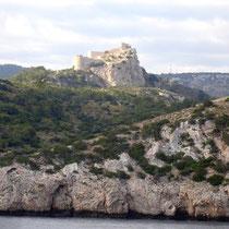 Rhodos: Burg bei Kamiros Skala