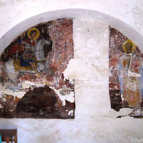 Fresko in Agios Giorgios (weder katholisch noch im Kastro)