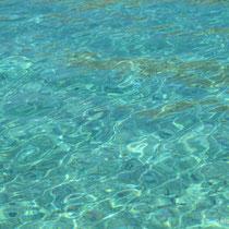 Sonst ist das Wasser aber klar!