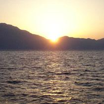 Karpathos: Sonnenuntergang
