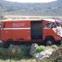 Amorgos: Neues Wrack für Theo?