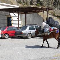 Karpathos: Müllabfuhr