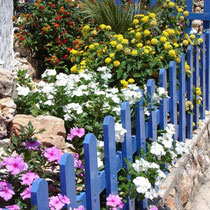 Chalki: Blumengarten