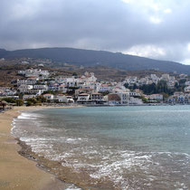 Andros: Strand von Batsi