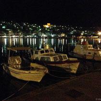 Sitia bei Nacht
