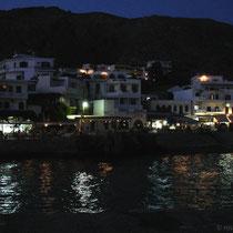 Kreta: Chora Sfakion bei Nacht