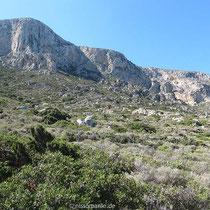 Der Rand des Gipfelplateaus
