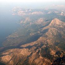Berge auf Evia