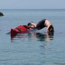 Köpfer ins Meer