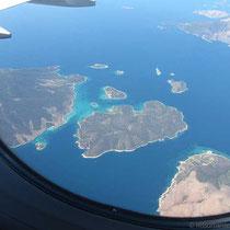 Die Petalii-Inseln