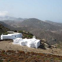 Stavros-Kapelle zwischen Chora und Kamari