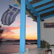 Griechischer Sonnenuntergang