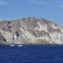 ... mit dem Leuchtturm am Kap Akrotiri