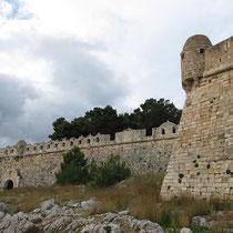 Beeindruckende Mauern