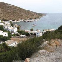 Agios Georgios, der Hafenort