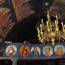 Freiheitsheldne in der Kirche Agios Giorgos