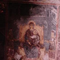 Karpathos: Fresko in der Kirche  in Olymbos