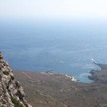 Blick zur Bucht von Feloti
