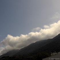 Drohende Wolken am Krikelos