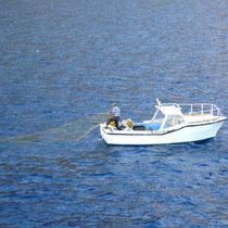Kreta: Fischer bei Loutro