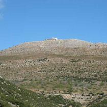 Der Berg grüßt herab