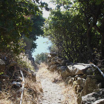 Andros: Wanderweg