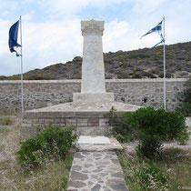 Denkmal auf dem französischen Friedhof