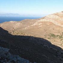 Blick ins nördliche Tal (nach Skafi)