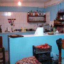Gavdos: Die Küche der Taverne
