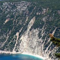 Der Platia-Ammos-Strand