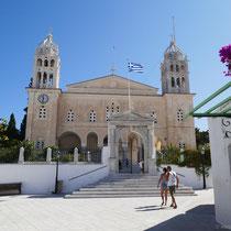 ... an der Kirche Agia Triada