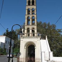 Glockenturm vom Milopotamos