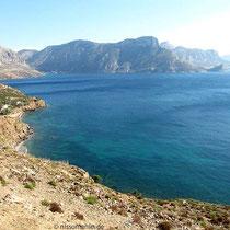 Die Westküste von Kalymnos
