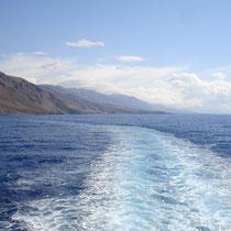 Kreta: Fahrt nach Agia Roumeli