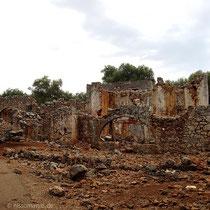 Die Ruinen von Aradena