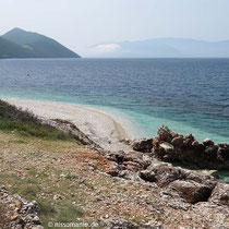 Blick nach Süden: Aetos und Kefalonia
