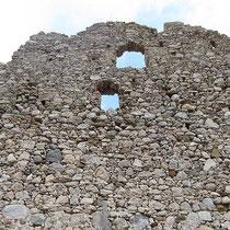 Ruinenwand
