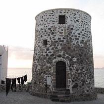 Windmühlenstupf in Mandraki