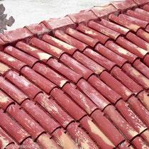 Karpathos: Kapellendach in Olymbos
