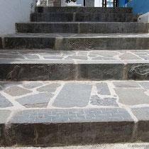 Verzierte Treppe...